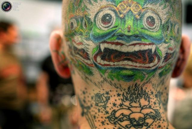纹身最早起源于远古时代的图腾崇拜