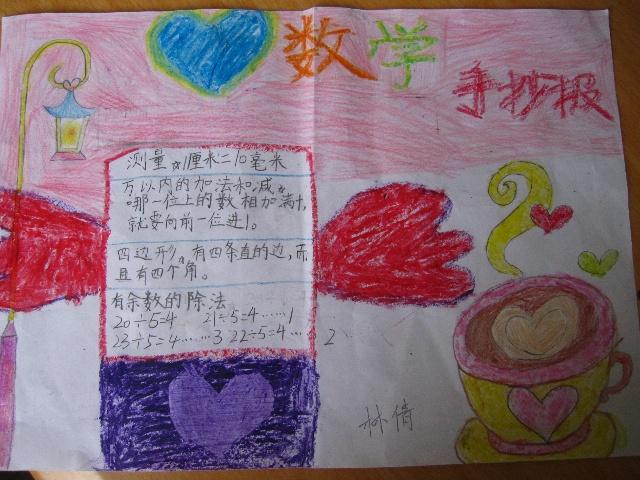 2011暑假数学手抄报展示-芊芊小荷园-搜狐博客