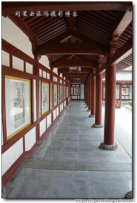 陕西西安大雁塔大慈恩寺玄奘三藏院游览特摄