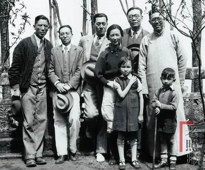 张申府儿子_清华名师的家藏照-《老照片》的博客-搜狐博客