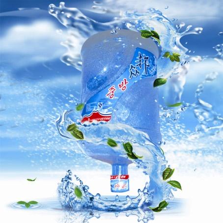 中国素材网素材库图片桶装水标贴