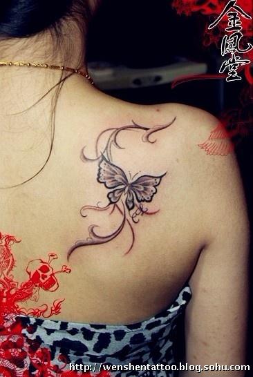 圣母纹身 蝴蝶纹身图 小臂彼岸花 图腾凤凰纹身 金刚杵纹身