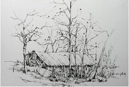 简笔画 手绘 素描 线稿 419_282